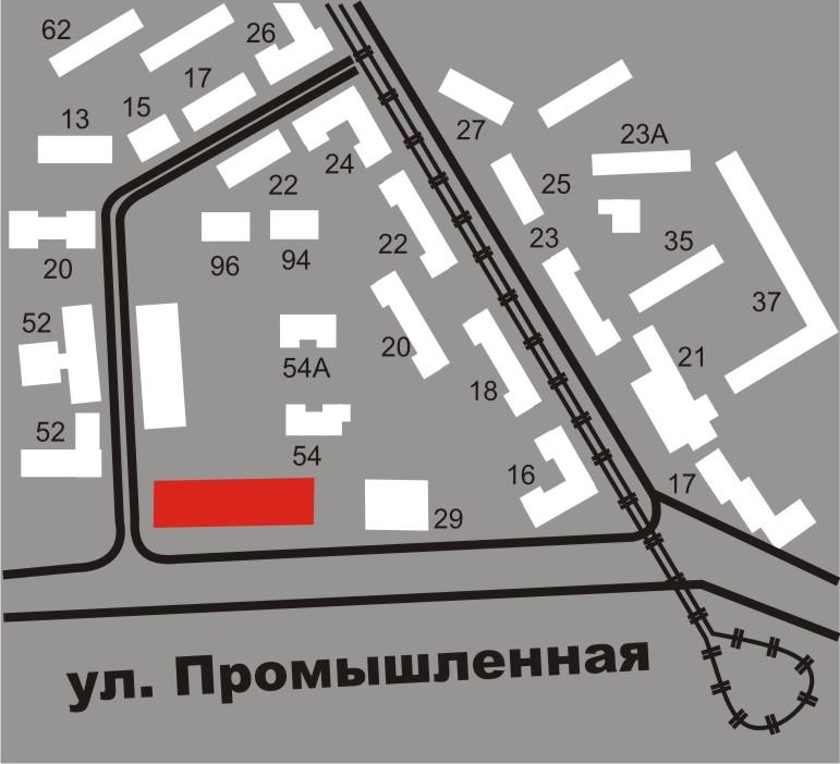 """Схема проезда нежилые помещения в жилом комплексе  """"Байкал """" ."""