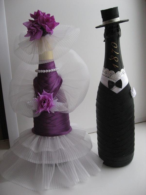 Как сделать шляпку своими руками для шампанского 871