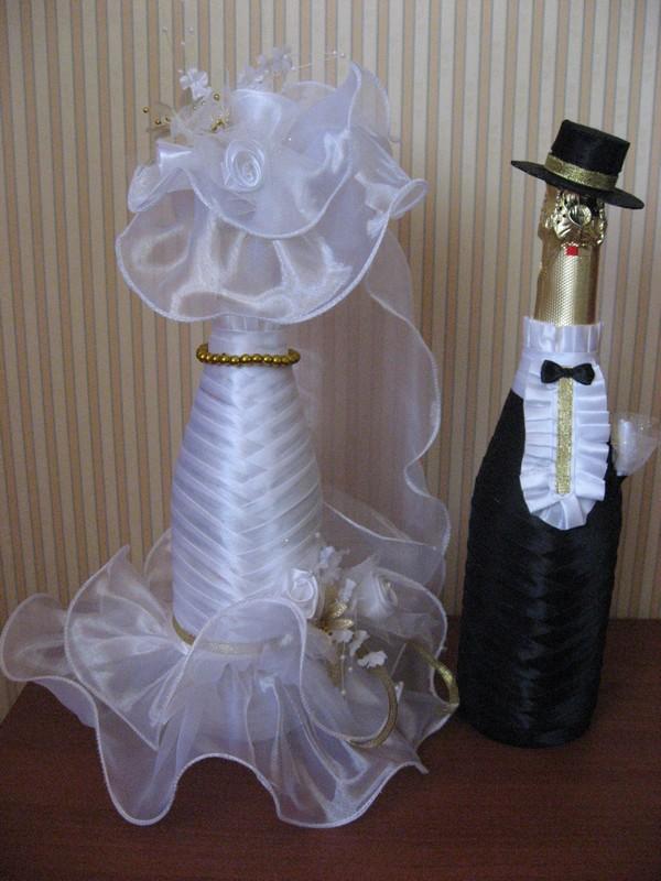 Шляпка на бутылку шампанского