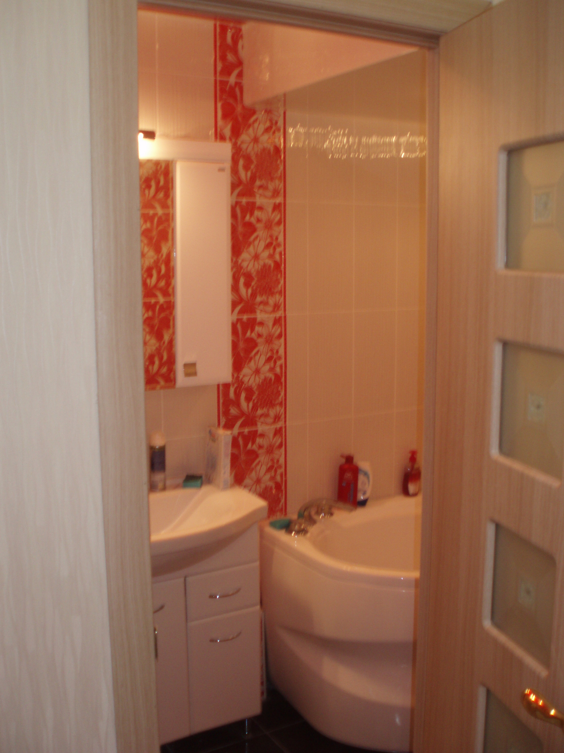Дизайн ванны и санузла в домах 137 серии