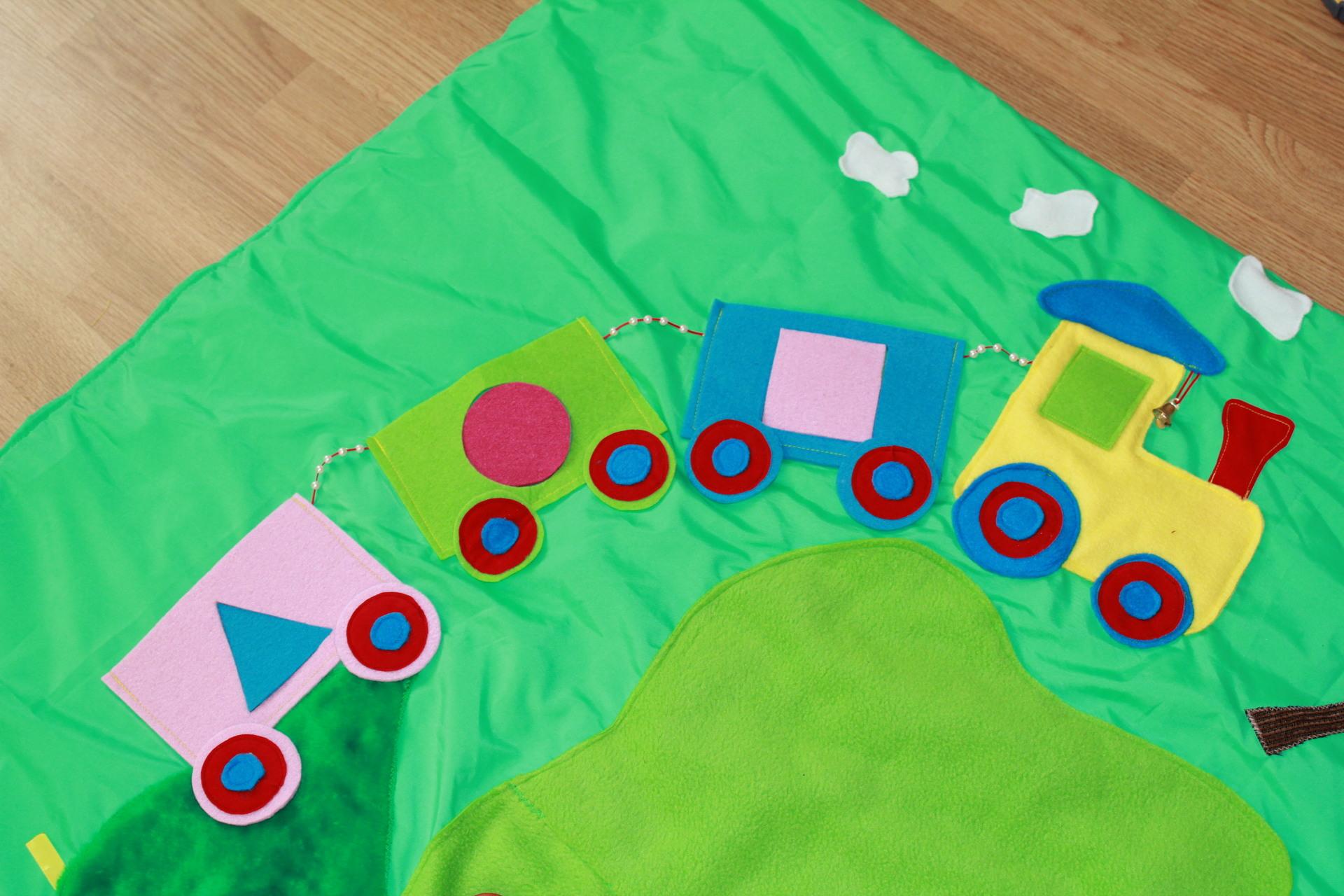 Развивающий коврик для детей своими руками (36 фото как) 93