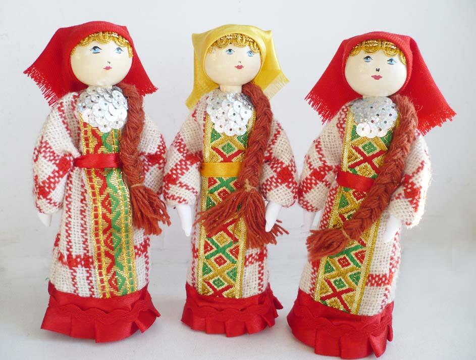 Традиционные народные куклы своими рук