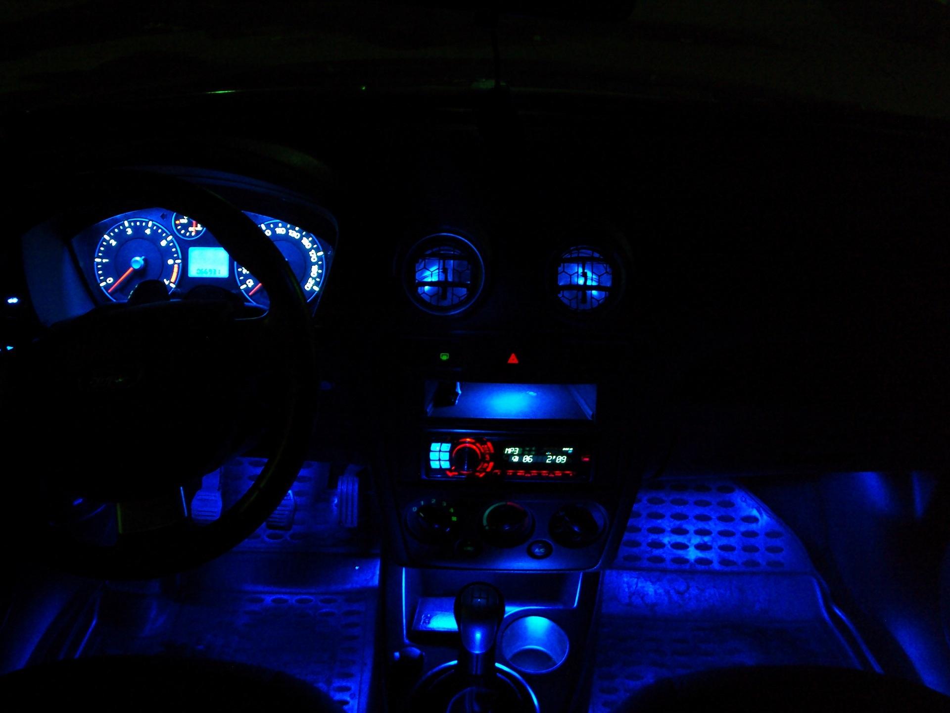 Форд фокус 2 какая лампа подсветки номера 18 фотография