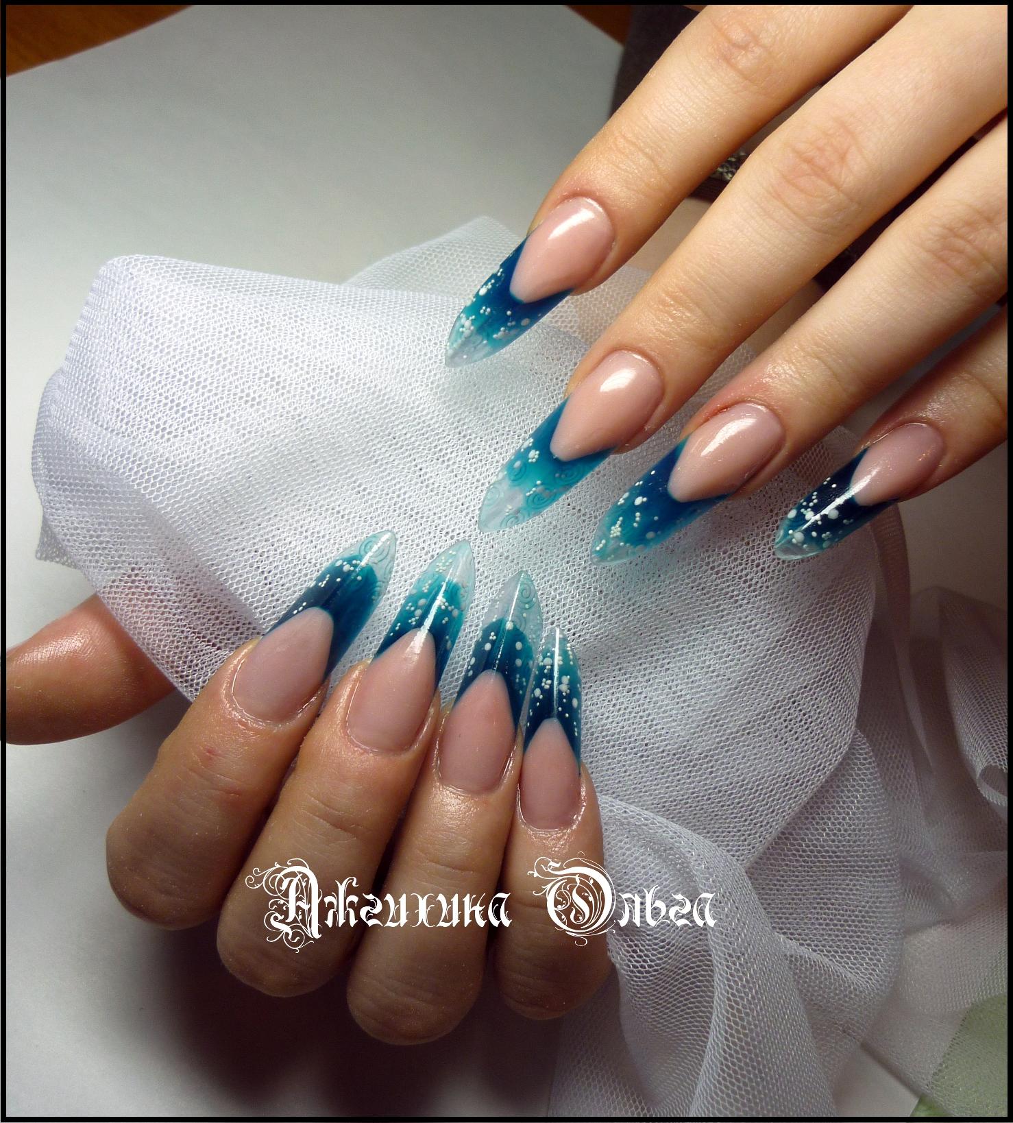 Дизайн ногтей хрустальные фото