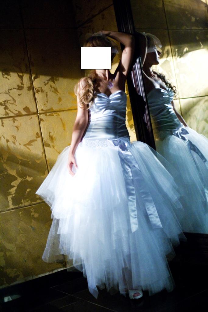 Как сделать свадебное платье из фатина