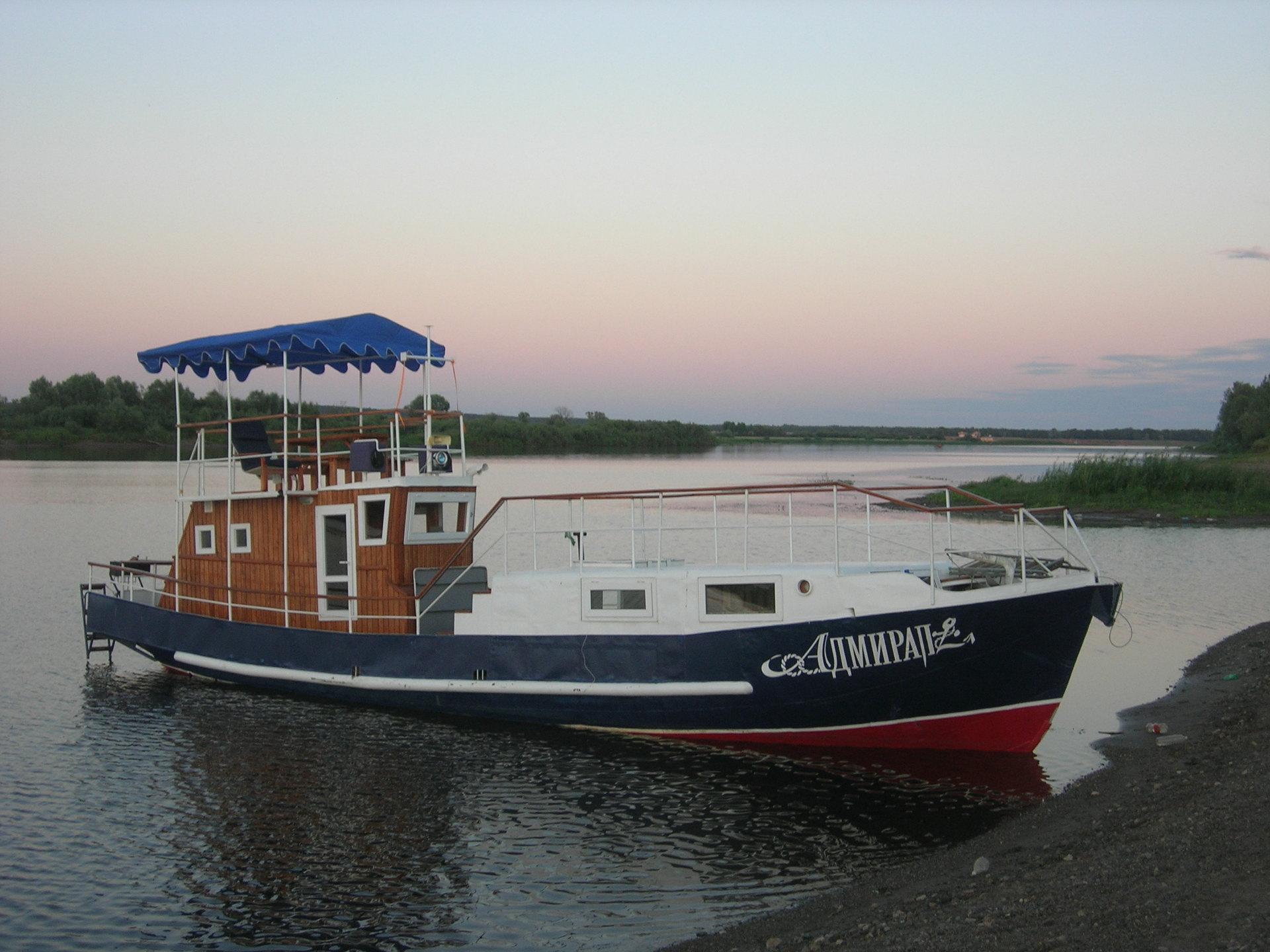Маломерные речные лодки