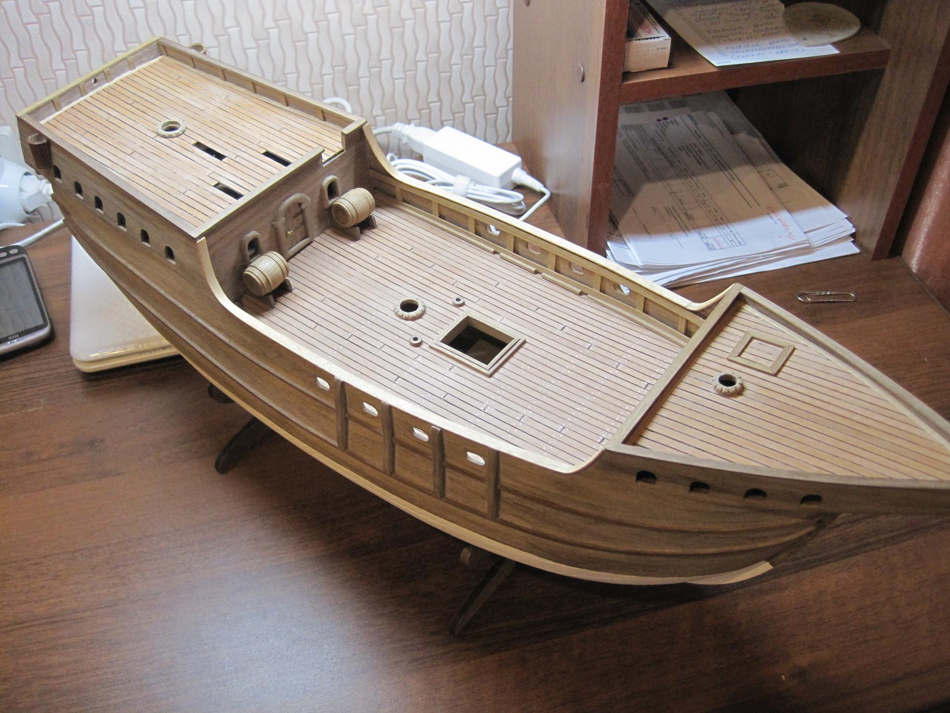 Как сделать поделку, игрушку корабль, кораблик из дерева своими руками? 41