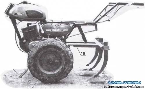 мотоблок b из /b мотора от мотоцикла b минск /b.