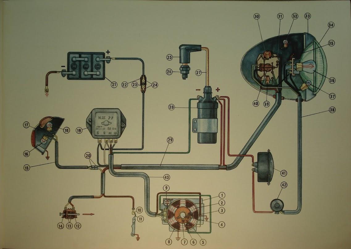 Бесконтактное зажигание схема газ