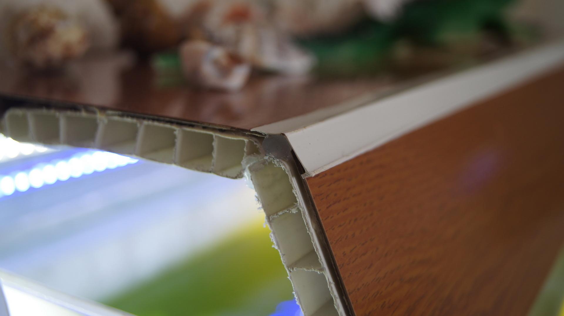 Крышка для аквариума своими руками из панелей пвх