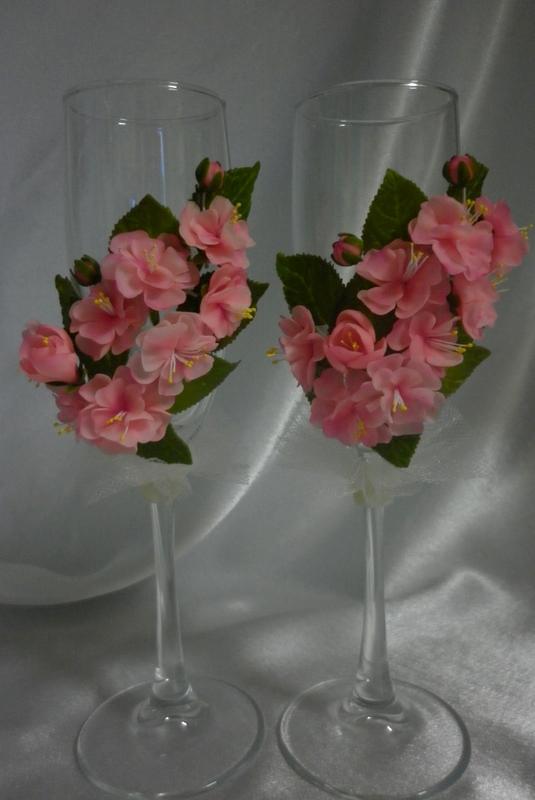Рюмки для цветов своими руками 21