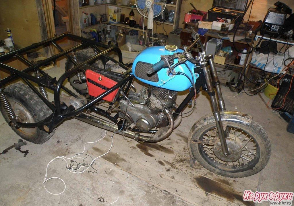 Грузовой мотоцикл иж своими руками - 3dfuse.ru