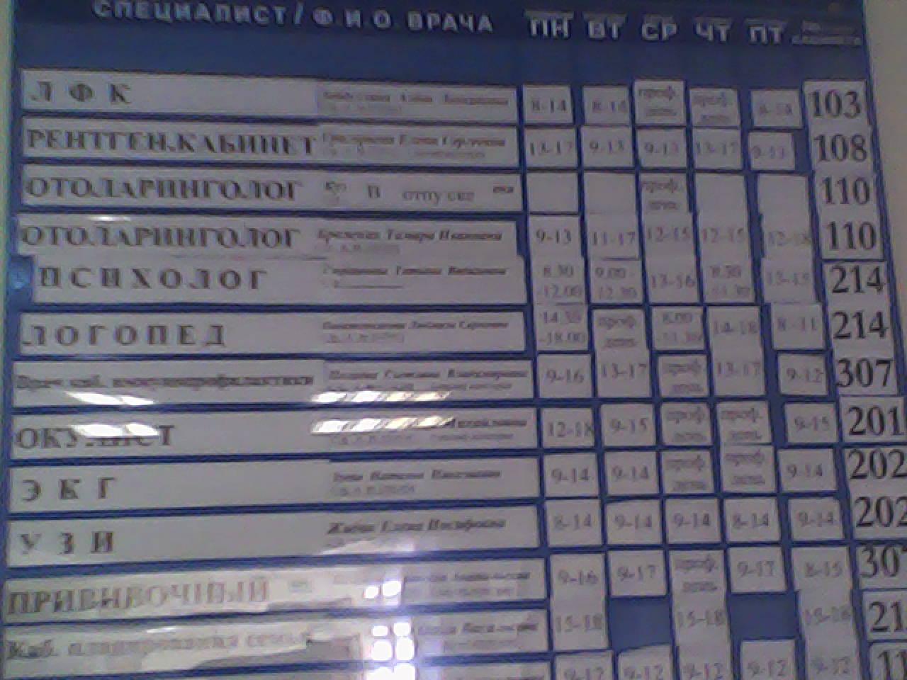Поликлиника 1 на гагарина ульяновск запись на прием