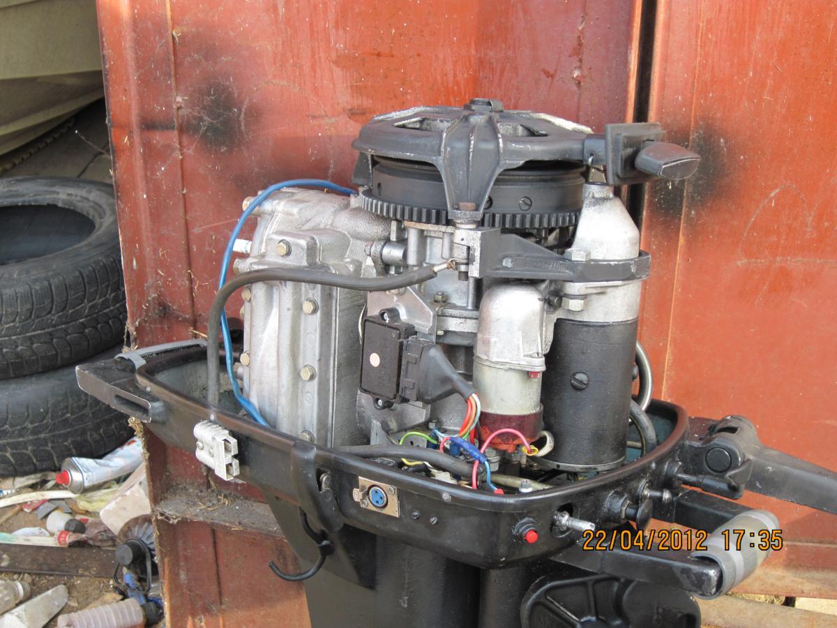 Стартер лодочного мотора своими руками 142