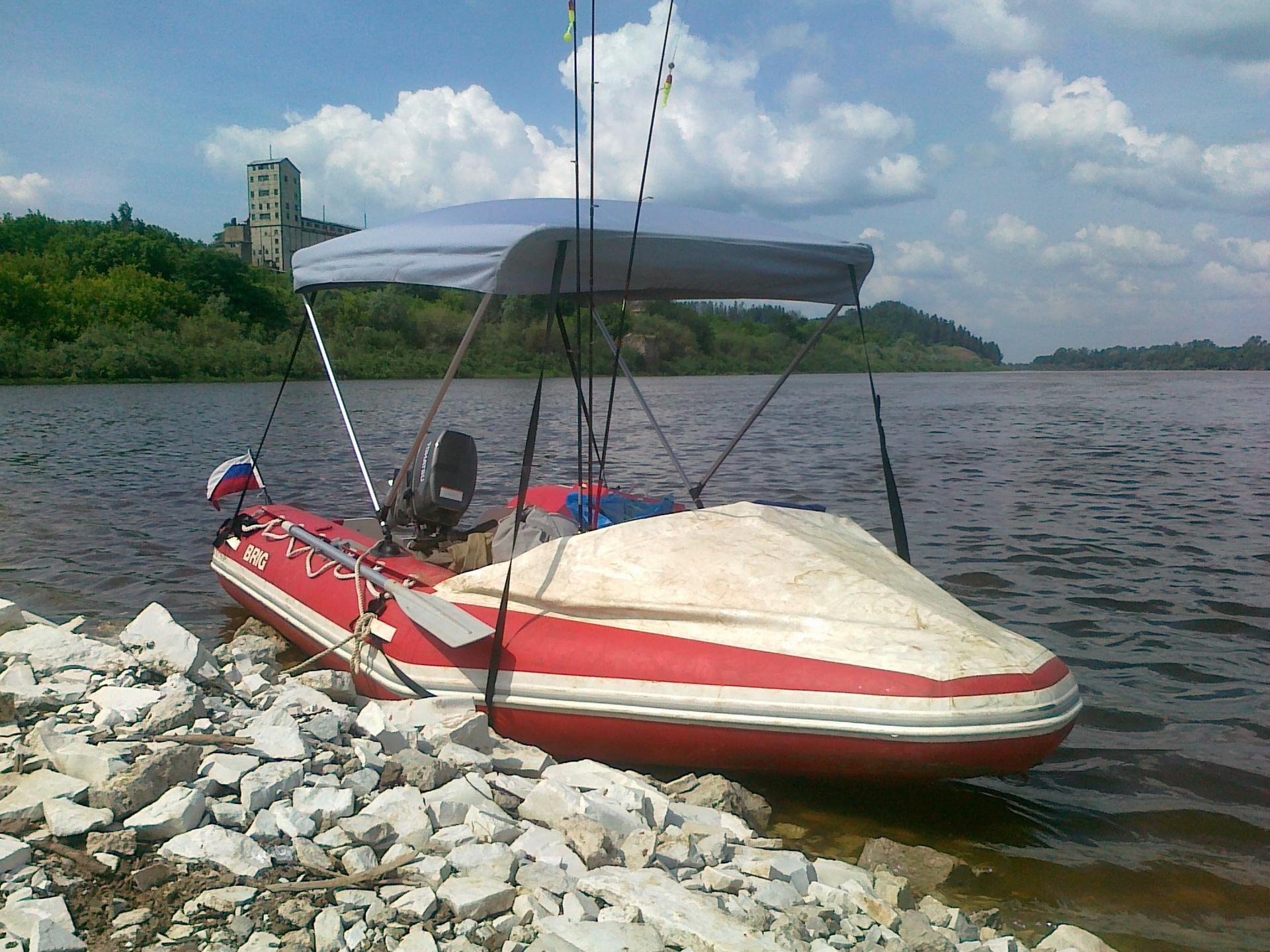 Сделать тент для лодки пвх