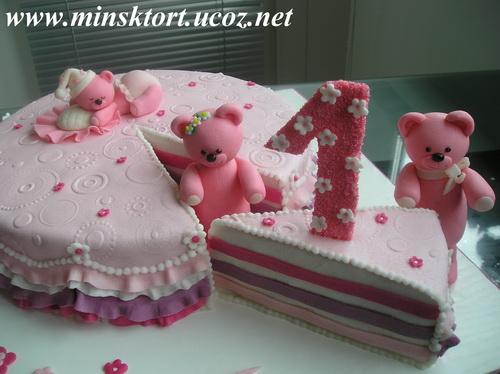 эскизы детских тортов: