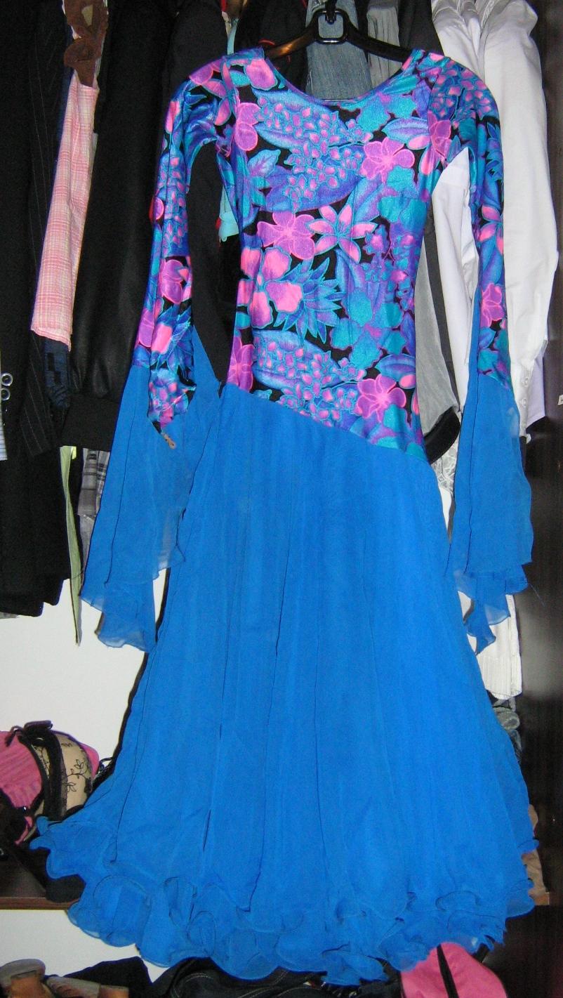 Платье для танцев своими руками 7