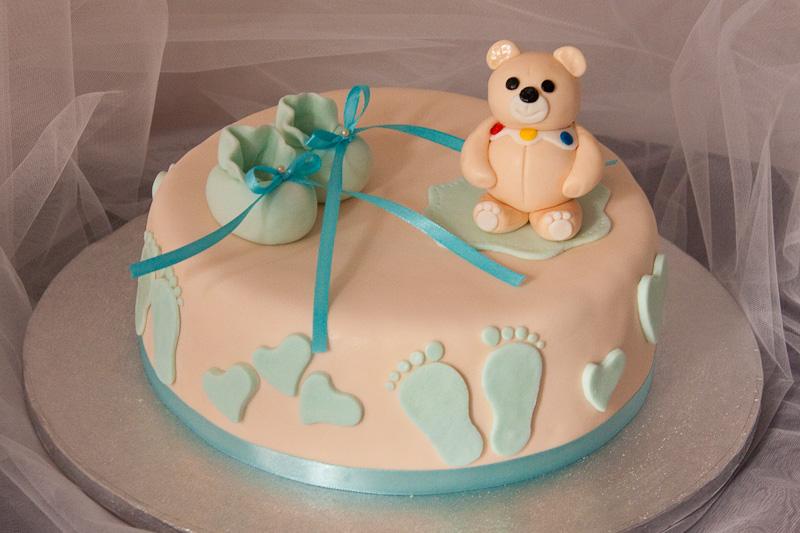Простой торт на день рождения ребенка 1 год