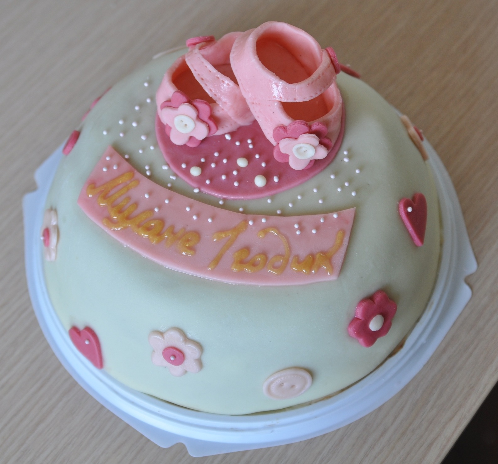 Как украсить торт в домашних условиях пошагово детский девочка