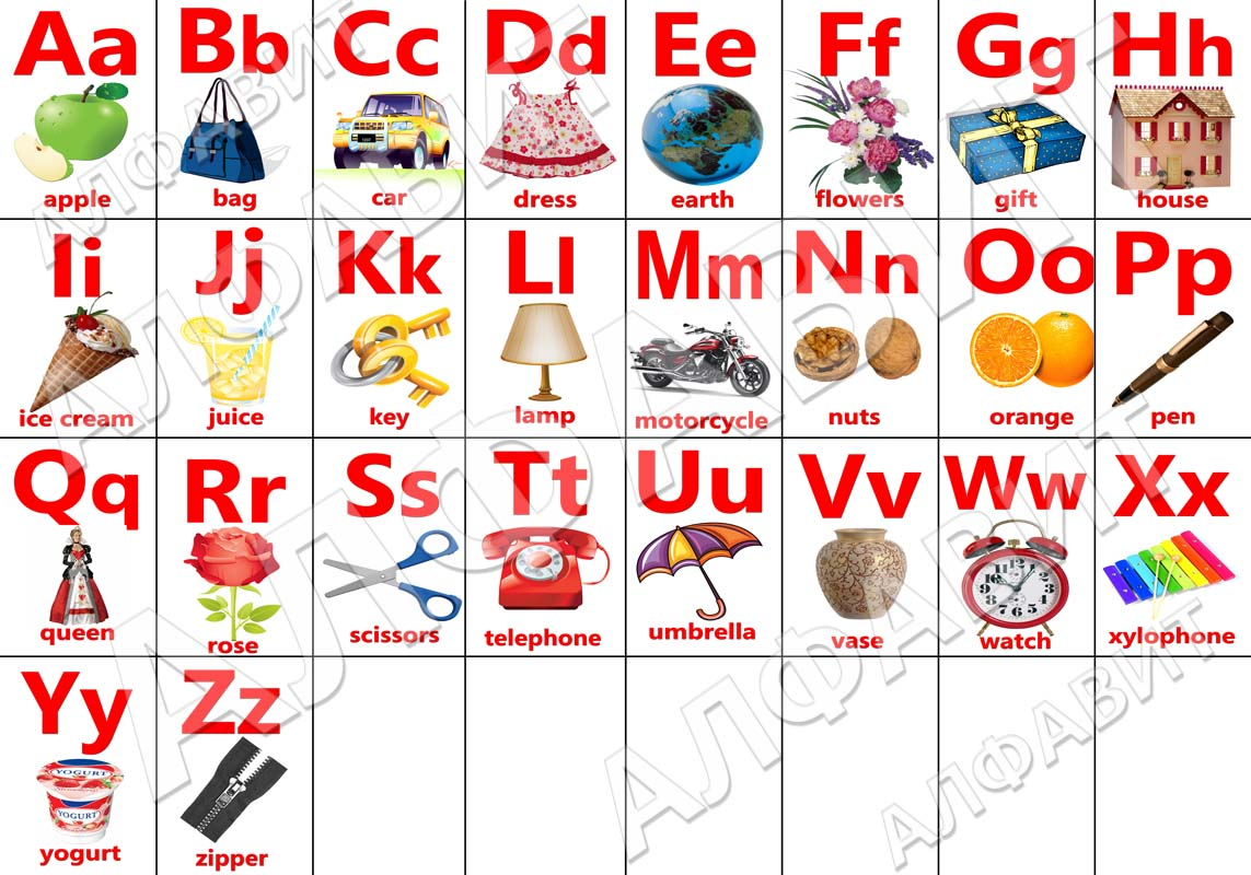 Магнитный алфавит немецкий.