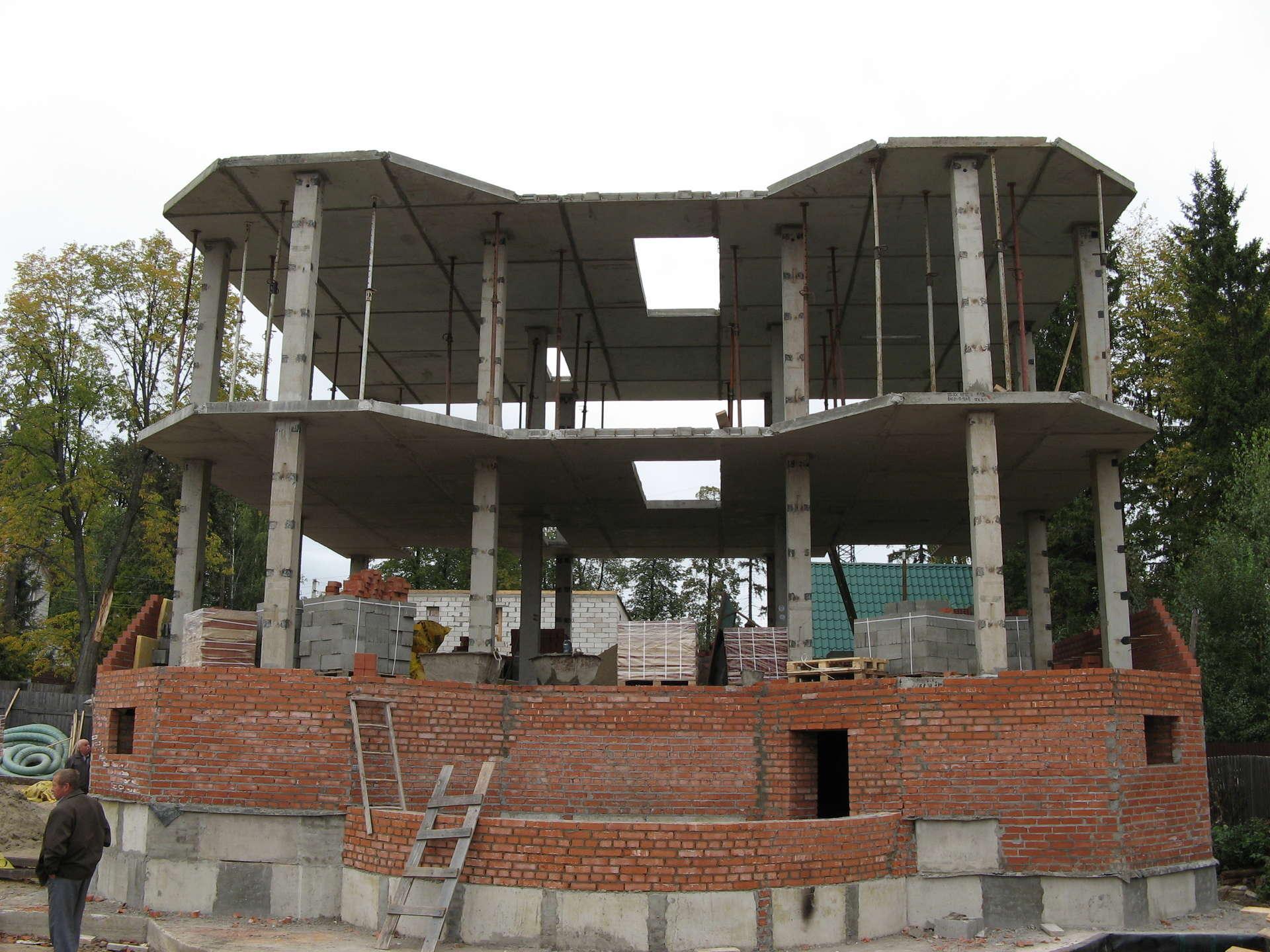 Дом из бетона своими руками цена 783