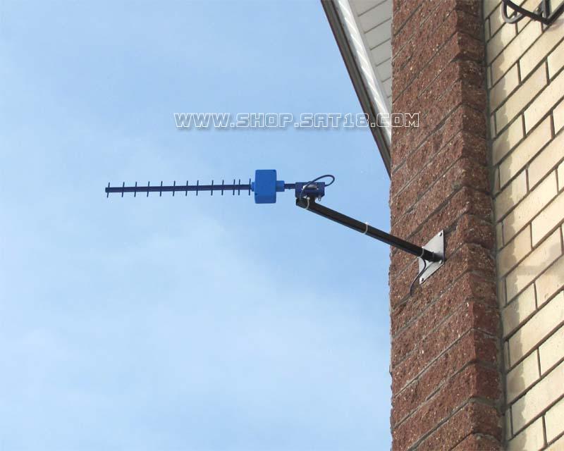 Крепеж для антенны на стену