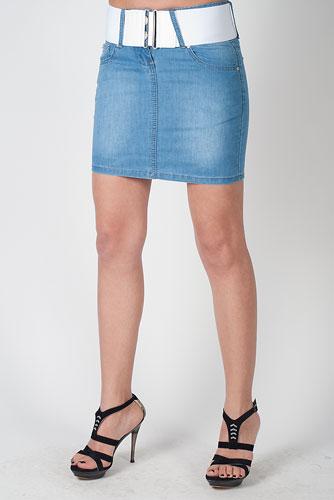 джинсовая юбка на ОБ до 88.