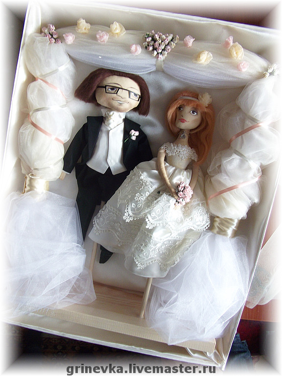 Куклы молодоженам своими руками