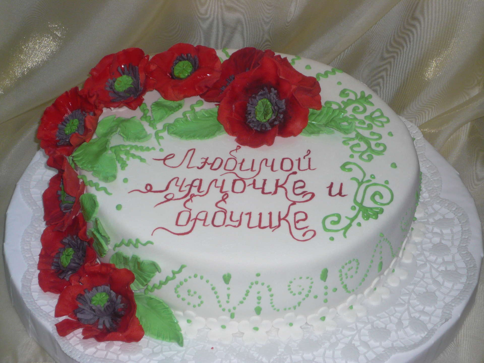 Торт маме украсить