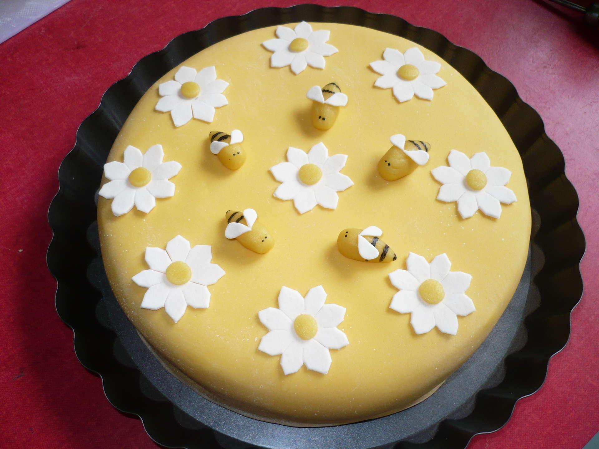 Медовый торт с мастикой с пошаговым фото