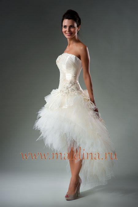 Короткие свадебные платья и приметы