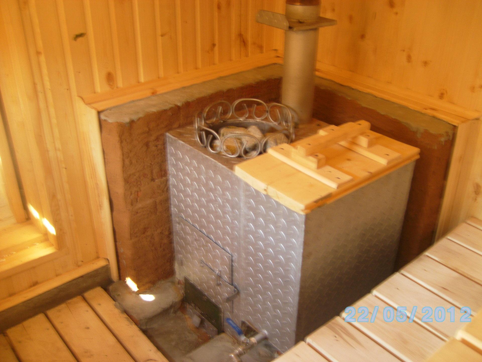 Как оборудуется баня в гараже своими руками sdelai garazh 42