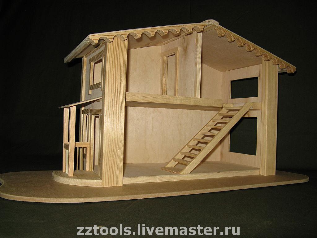 Детский домик для кукол из дерева своими руками 144
