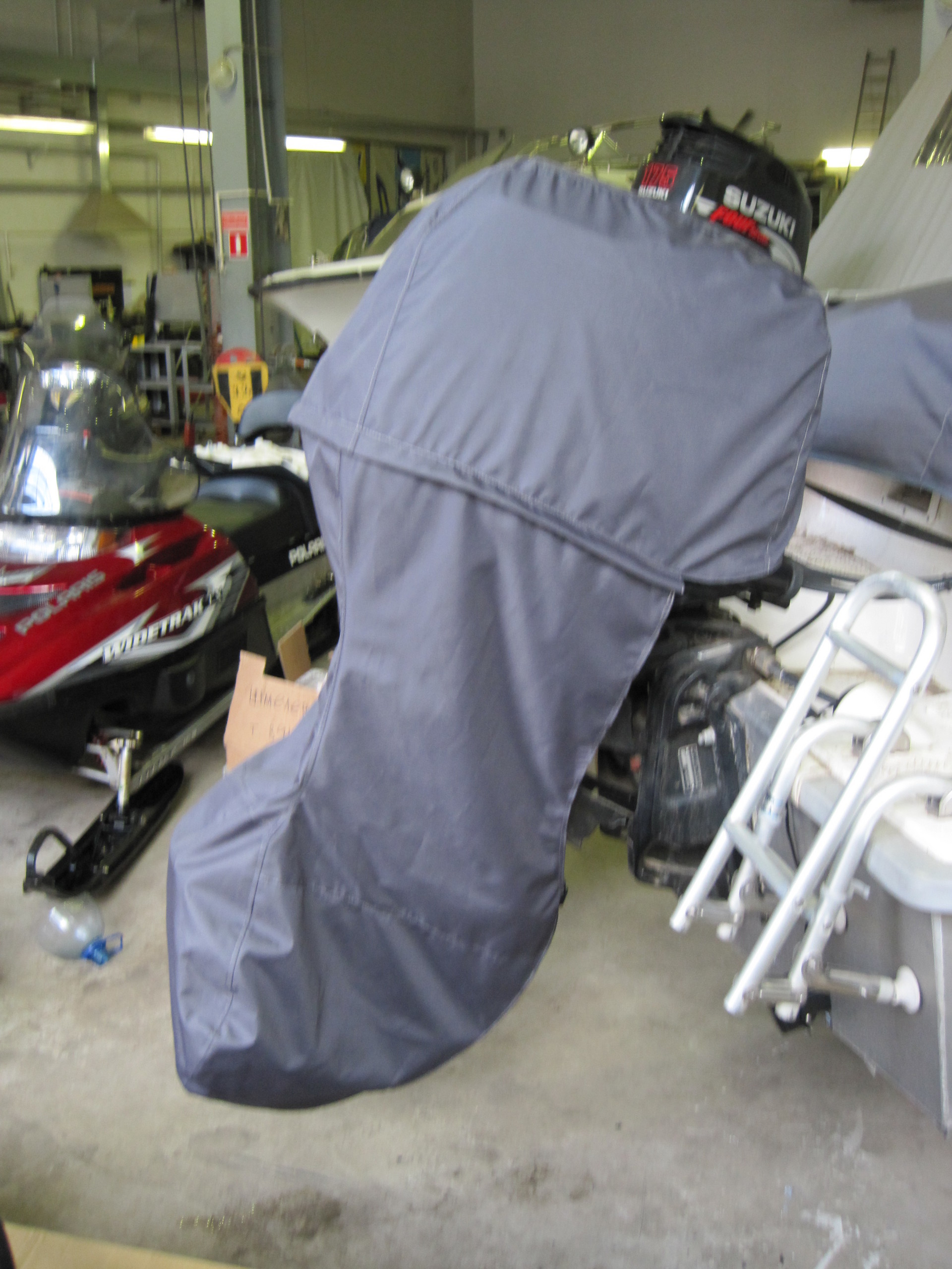 Выкройка чехла для лодочного мотора своими руками