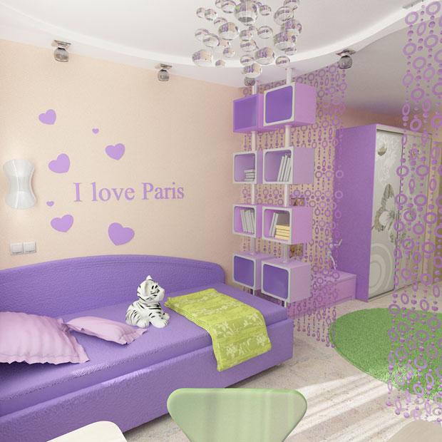 Спальня для мамы и дочки дизайн фото