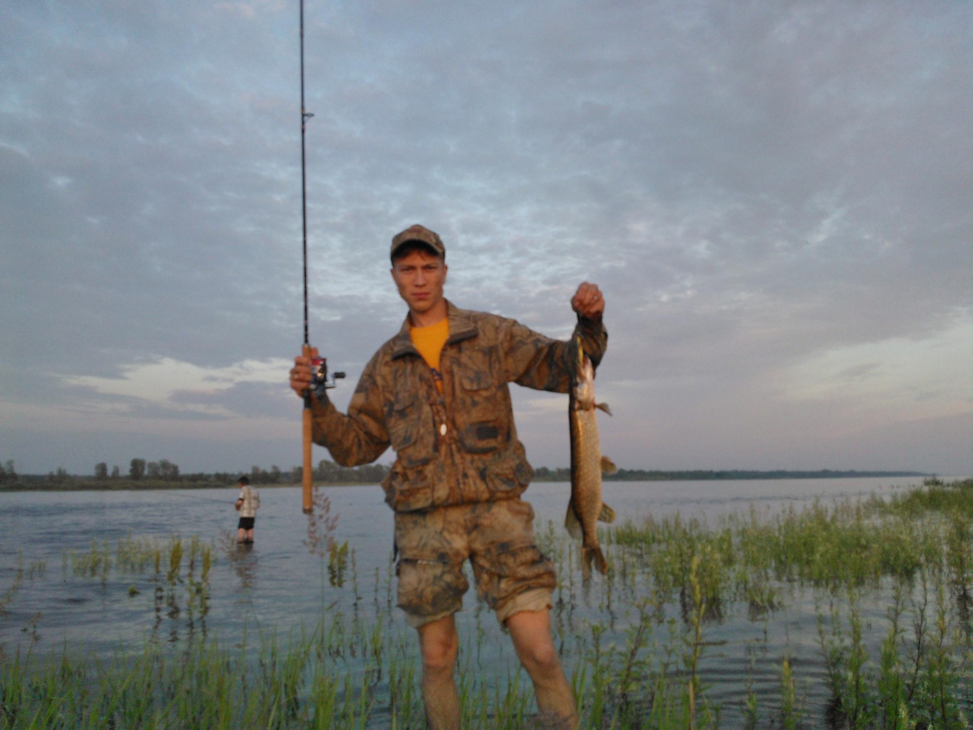 рыбалка в байкузино