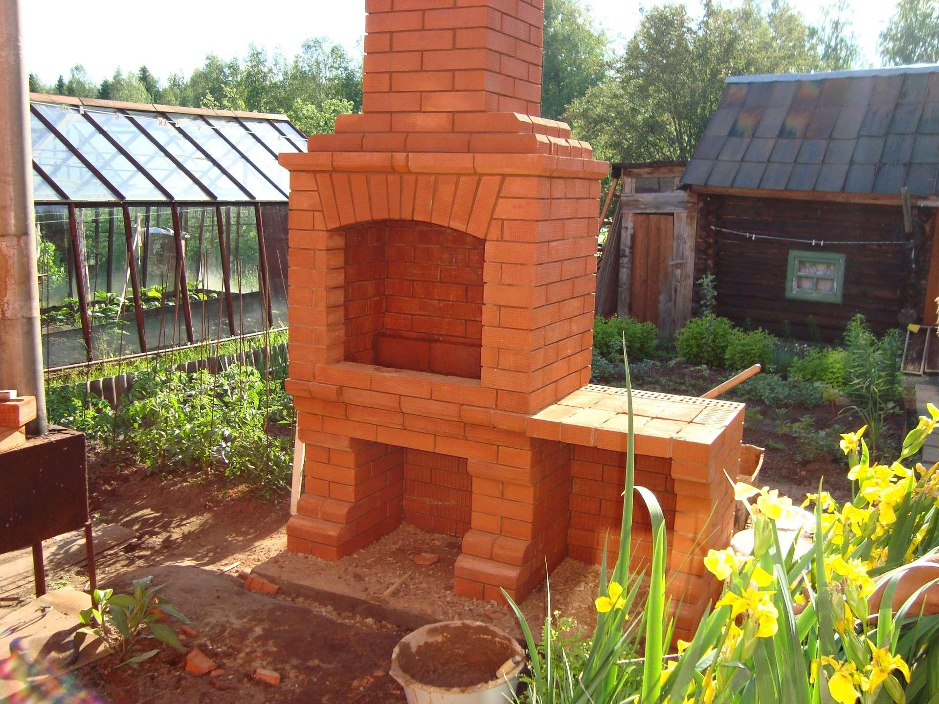 Печка для огорода своими руками
