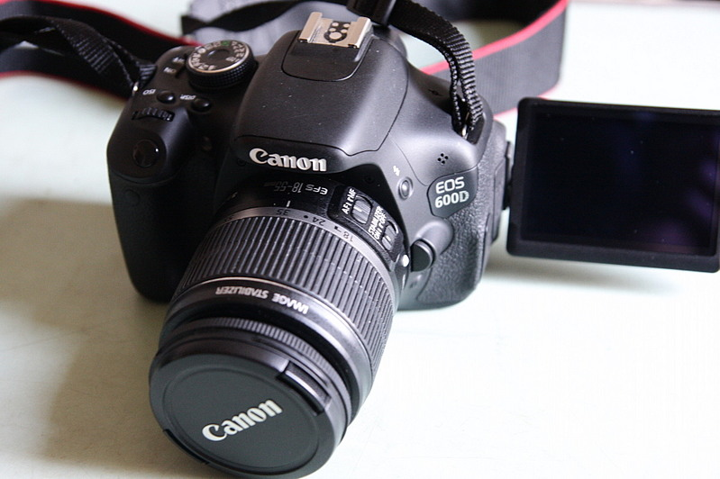 Canon 600d kit 18 55mm 3