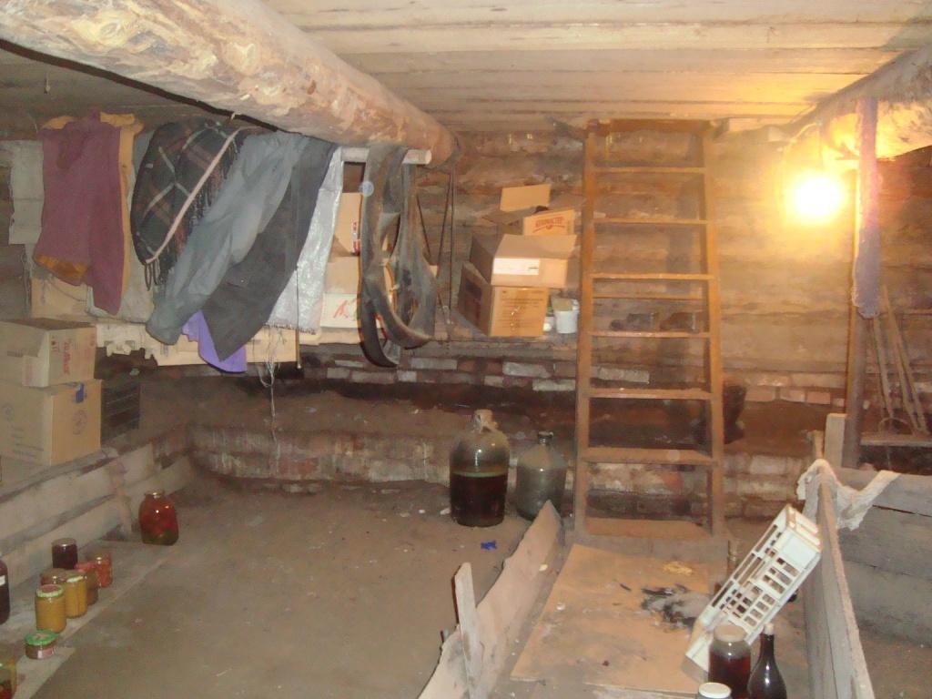 Сделать подвал в деревянном доме своими руками 69