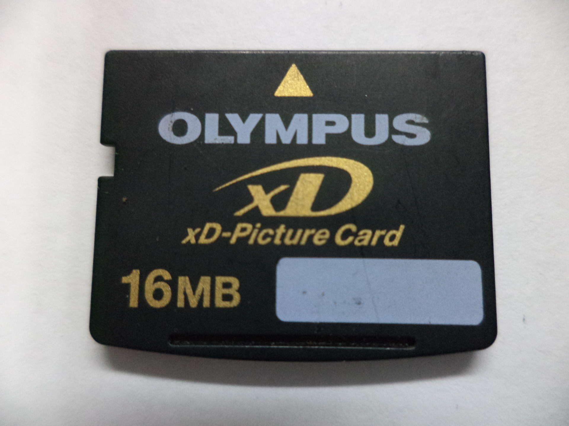 Xd picture card fujifilm olympus 7