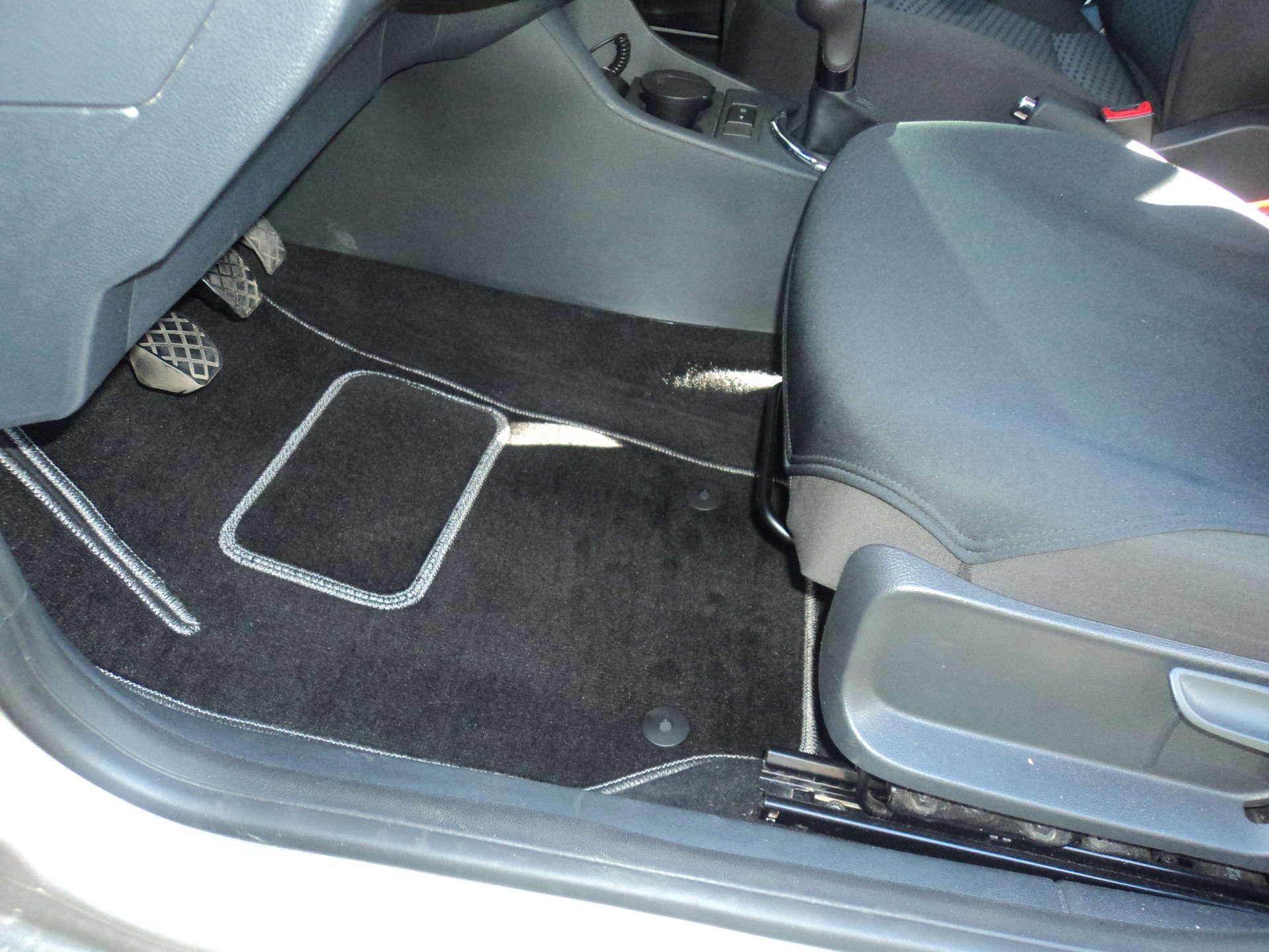 Тканевые коврики в салон автомобиля своими руками