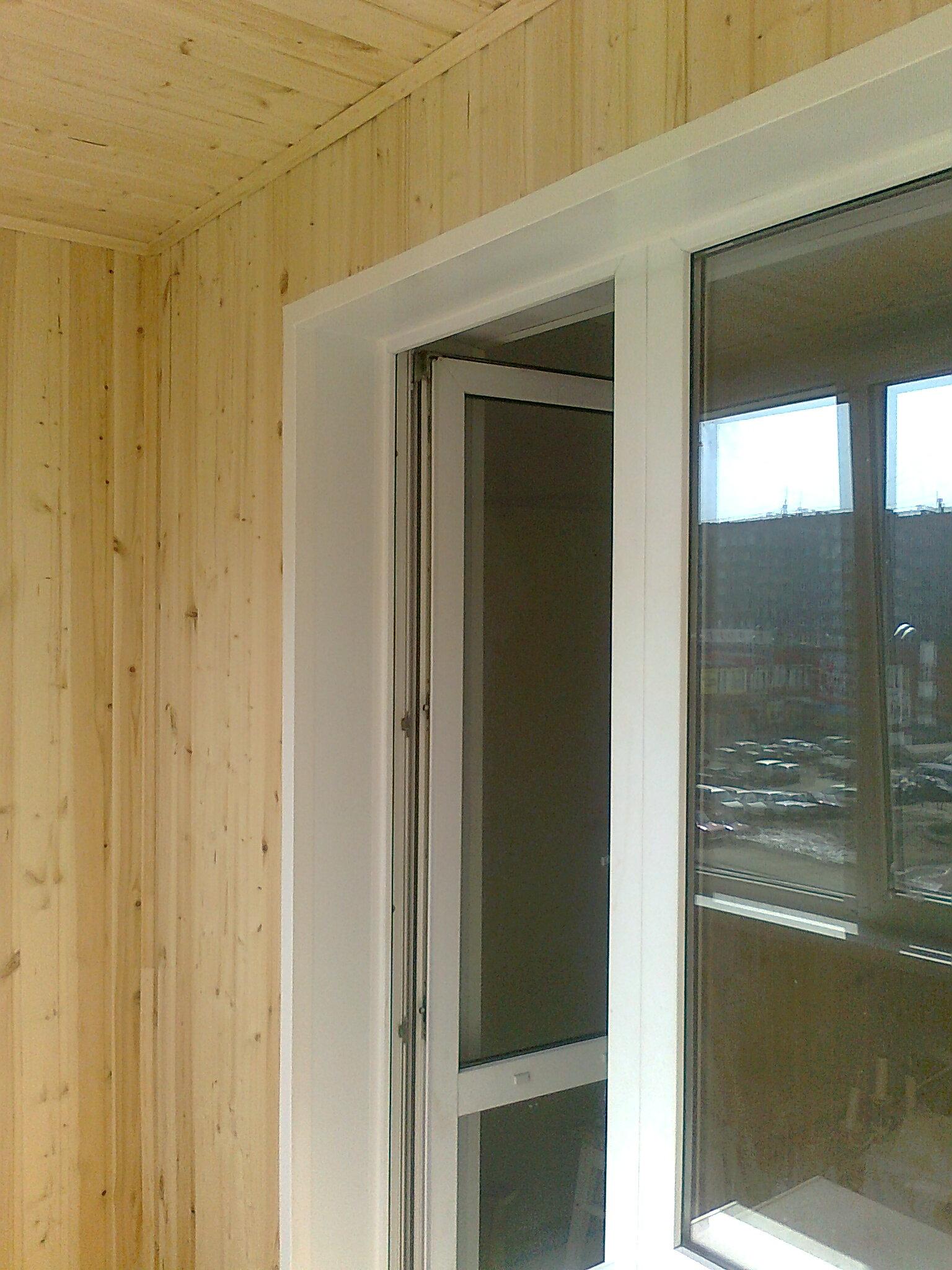 Внутренняя отделка балконов и лоджий..