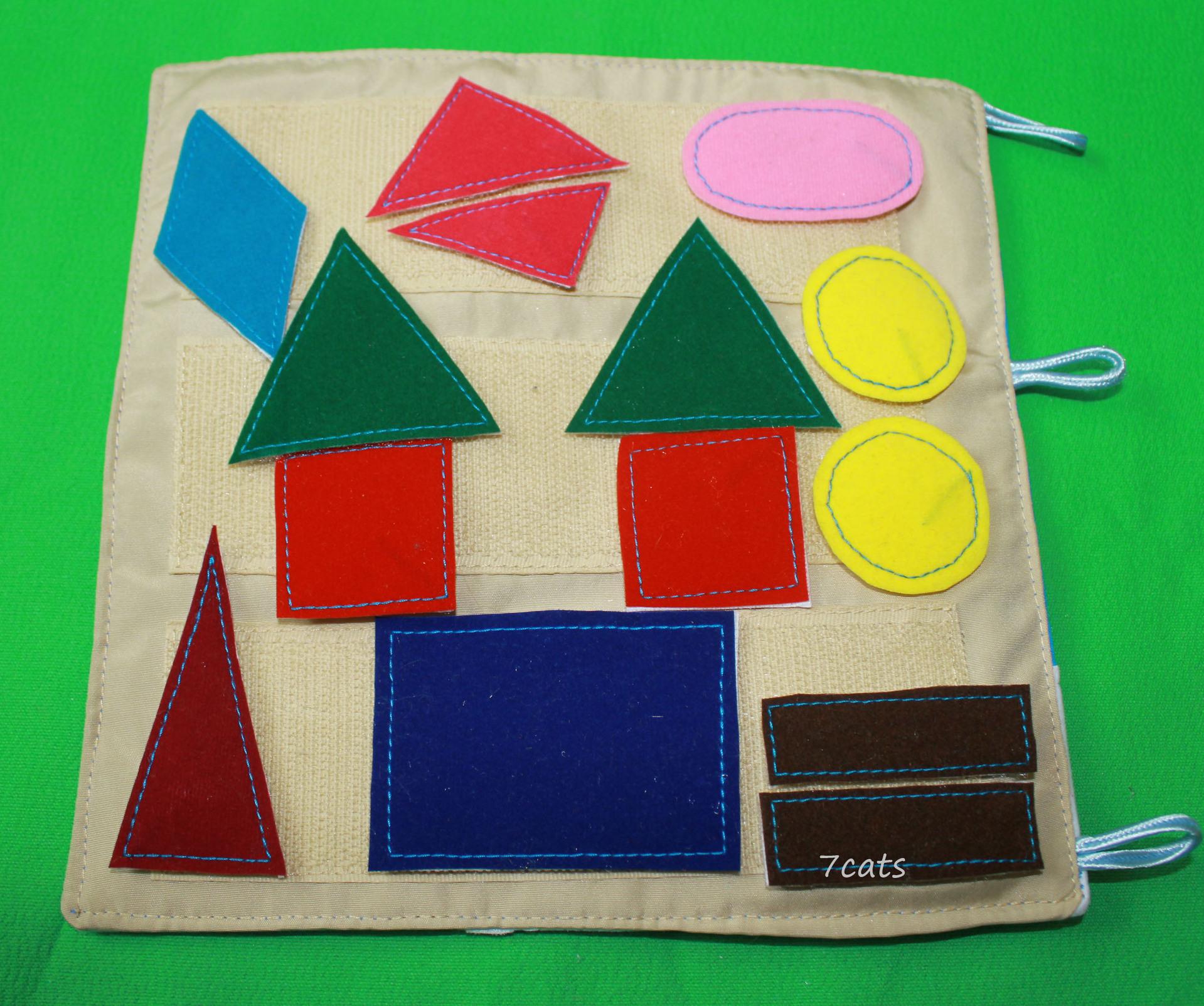 Развивающая игрушка для годовалого ребенка своими руками