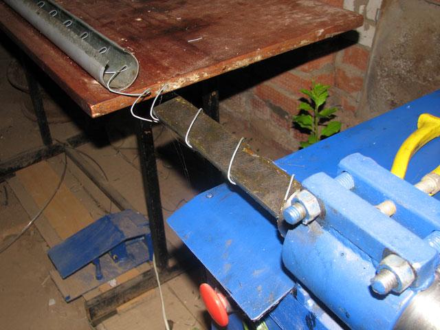 станок для изготовления рыбацких сеток