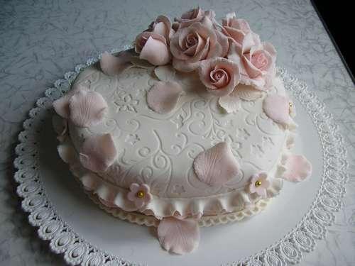 Фото красивых одноярусных тортов