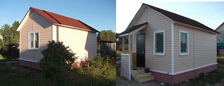 Чем можно покрасить кирпичный дом снаружи.