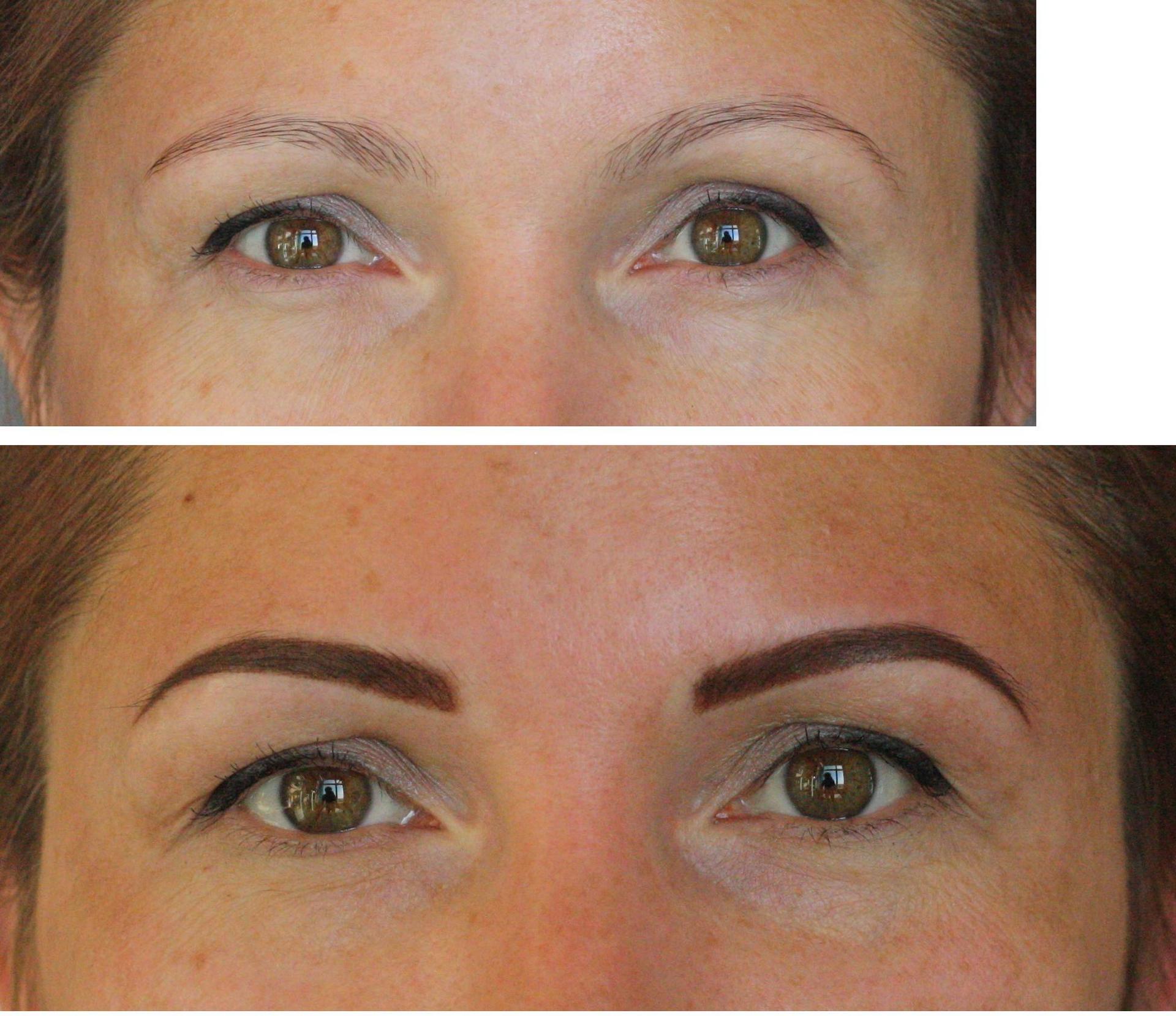 Коррекция перманентного макияжа бровей стоимость