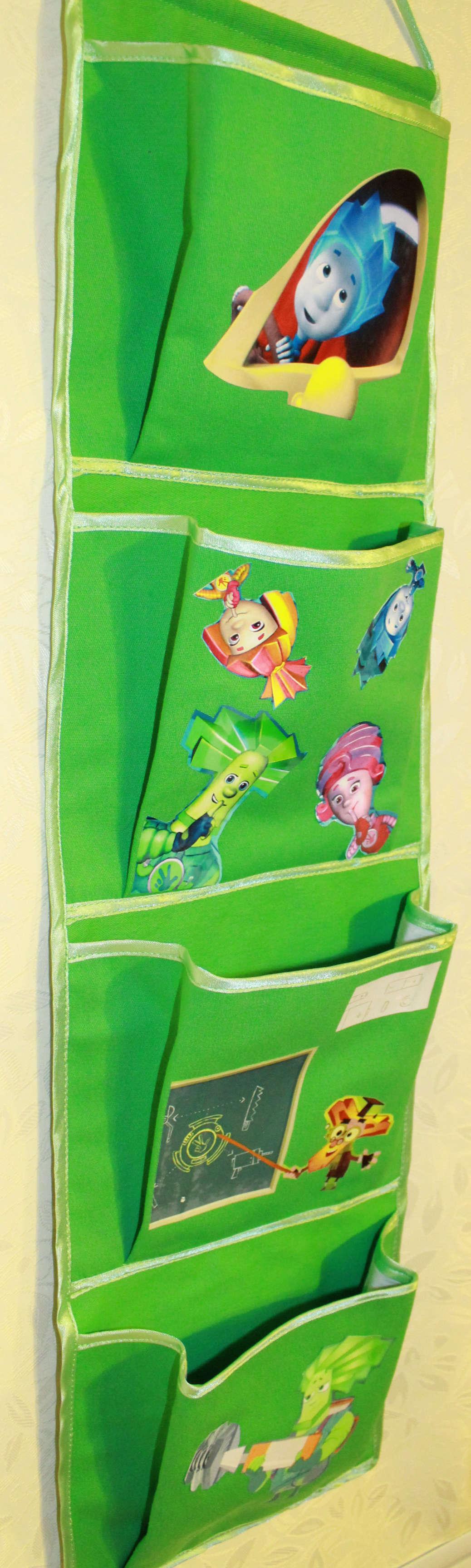 Кармашек на шкафчик в детский сад своими руками