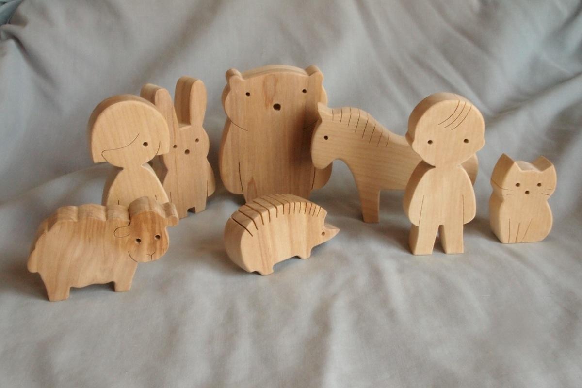 Сделать деревянных игрушек своими руками 255