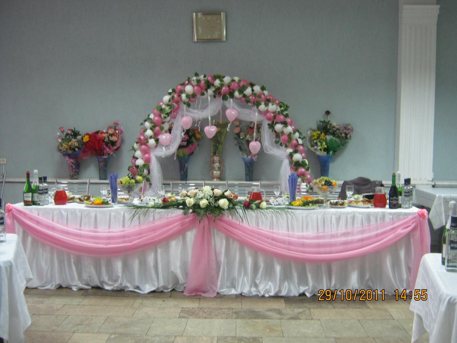 Оформление свадебного стола своими руками, инструкции 19